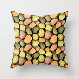 Sea pebbles 2. Throw Pillow