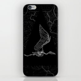 pterodactylus x-ray iPhone Skin