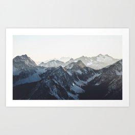 Mountain Mood Art Print