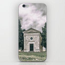 Cappella della Madonna di Vitaleta iPhone Skin