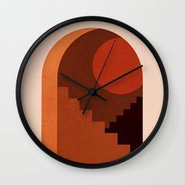 Abstraction_SUN_HOME_MInimalism_001 Wall Clock