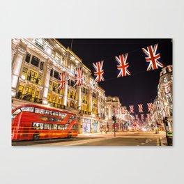 Regent Street London Canvas Print