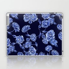 Porcelain Floral Laptop & iPad Skin