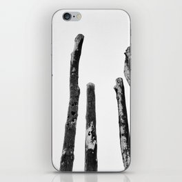 Blackened and Scorched iPhone Skin