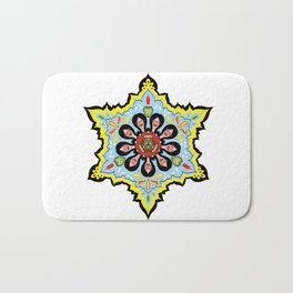 Alright linda belcher mandala kaleidoscope Bath Mat