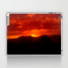 Red Sunset Laptop & iPad Skin