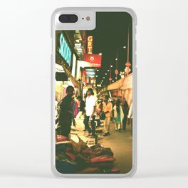 Indian street Clear iPhone Case