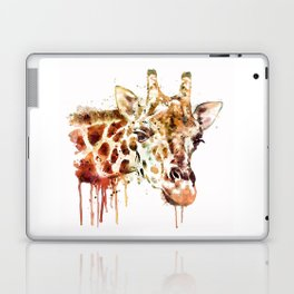 Giraffe Head Laptop & iPad Skin