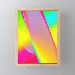 Rainbow series I Framed Mini Art Print