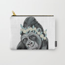 Lovely Gorilla Carry-All Pouch