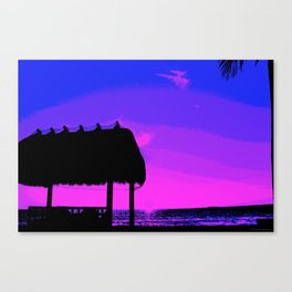 Florida Keys Sunset PA2 Canvas Print