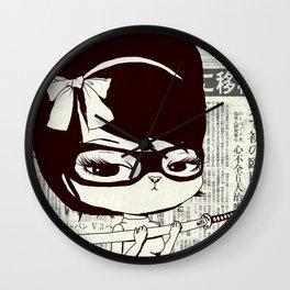 Bakemona-Lisa Wall Clock