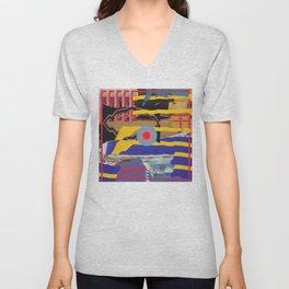 pulled muscle Unisex V-Neck