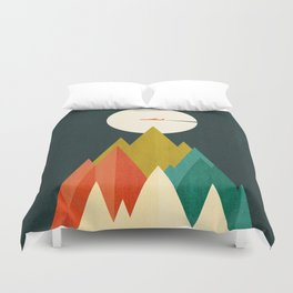 Life is a travel Duvet Cover