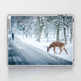 The chill of winter Laptop & iPad Skin