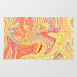 Liquefied colors 2 Rug