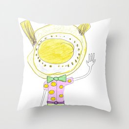Dressed to the Space Nines Throw Pillow