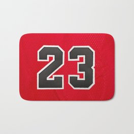 Michael 23 Jordan Chicago Bulls Bath Mat