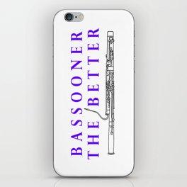 Bassoon iPhone Skin