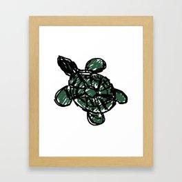 Turtle, Turtle Framed Art Print