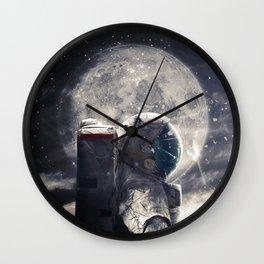 Accompanied Wall Clock