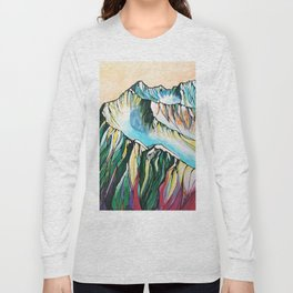 Alyeska Mountain at Jack Sprat Long Sleeve T-shirt
