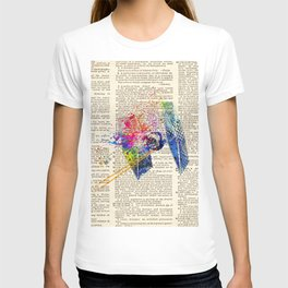 DICTIONARY ART #TIE FIGHTER T-shirt