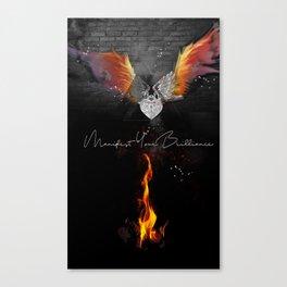 Manifest Your Brilliance Canvas Print