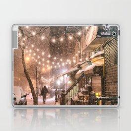 Snow - New York City - East Village Laptop & iPad Skin