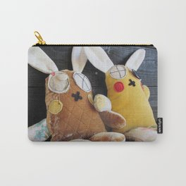 Two Bunnies Carry-All Pouch
