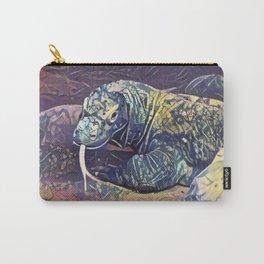 Komodo Dragon Carry-All Pouch