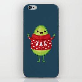 AVO MERRY CHRISTMAS iPhone Skin