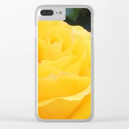 My Yellow Rose Clear iPhone Case
