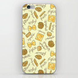 Know Your Pasta iPhone Skin