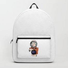 Yuri Gagarin. Space day. Backpack