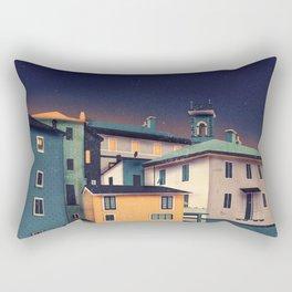 Castles at Night Rectangular Pillow