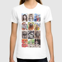 Labyrinth Cast T-shirt