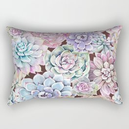 succulent allover Rectangular Pillow