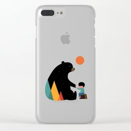 Promise of a Bear Clear iPhone Case