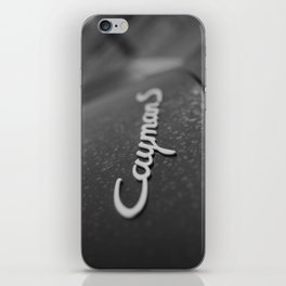 Cayman S in the Fog iPhone Skin