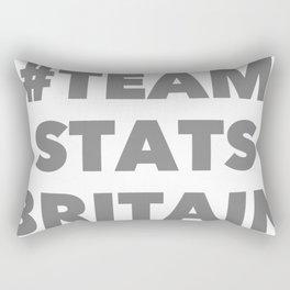 Team Stats Britain Rectangular Pillow