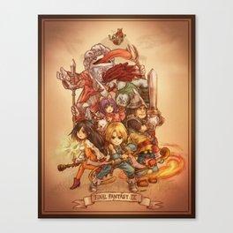 Final Fantasy IX Canvas Print