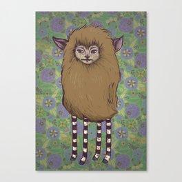 Fawn Girl Canvas Print