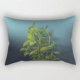 Shy and charming basil Rectangular Pillow