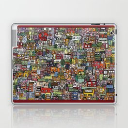Roof top garden Laptop & iPad Skin