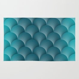 Blue Hill Scales Rug