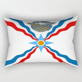 Assyrian Flag Rectangular Pillow