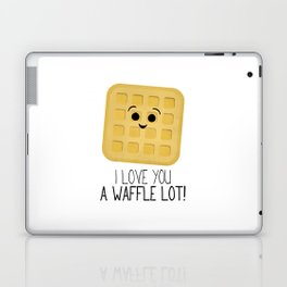 I Love You A Waffle Lot! Laptop & iPad Skin