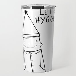 Scandinavian Hygge illustration art Travel Mug