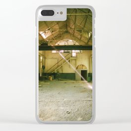 Dust in the Sun Clear iPhone Case